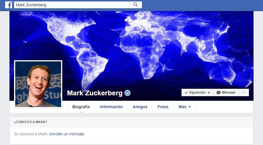 Un hacker amenaza con eliminar la página de Tag Zuckerberg de Facebook este domingo