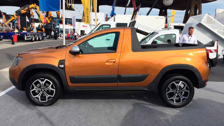 Dacia Duster pick up para Europa