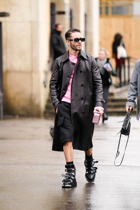 Prince Pelayo Diaz Short Ancho Pantalon Corto Trendencias Hombre Street Style 12