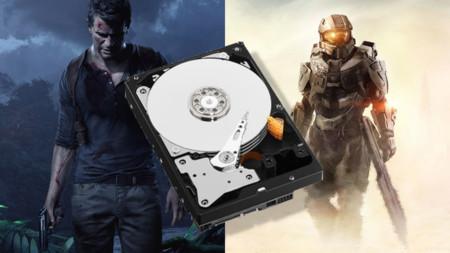 ¿Cuánto disco duro ocuparán Halo 5 y The Nathan Drake Collection?