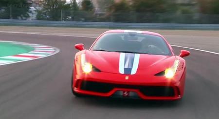 Ferrari 458 Speciale, vídeo onboard en Fiorano