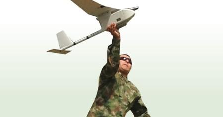 Los drones son una herramienta fundamental para el ejército Colombiano