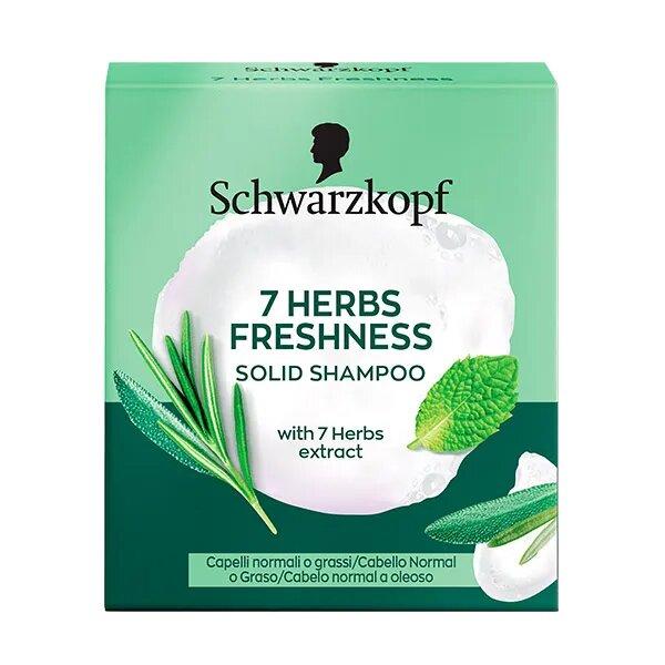 7 Herbs Freshness Solid Shampoo