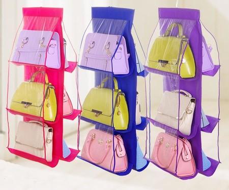 Organizador de bolsos en varios colores rebajado en Aliexpress por un precio de 6,49 euros y los gastos de envío gratis