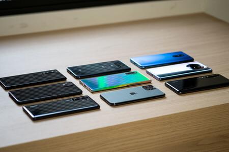 Smartphones Envios 2020 Disminuyeron