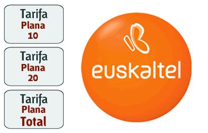 Euskaltel lanza más tarifas planas de voz, mensajes e internet