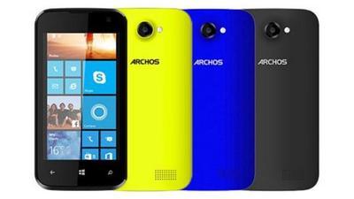 Archos presentará en IFA un nuevo móvil con Windows Phone 8.1 y un tablet con Windows 8.1