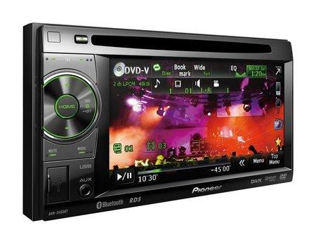 Pioneer presenta innovador auto-estéreo multimedia AVH-2450BT