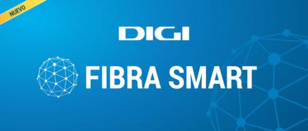 Siete ciudades ya pueden contratar la nueva fibra SMART de Digi: 1.000 Mbps por 20 euros