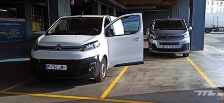 Citroen e-Jumpy 2021 Prueba Dinámica furgoneta eléctrica