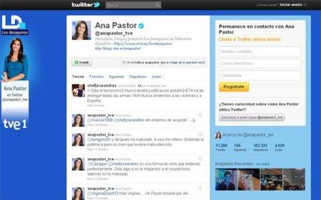 Ana Pastor Twitter