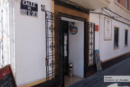 Taberna Cervantes en Valencia, un pequeño rincón para comer bien