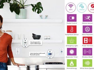Swidget, el sistema modular que quiere añadir inteligencia a los enchufes de la casa