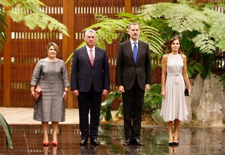 Reina Letizia Viaje Cuba
