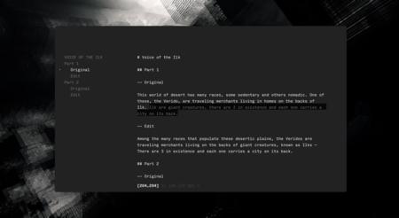 Left, un hermoso editor de texto minimalista y multiplataforma con funciones de lectura rápida