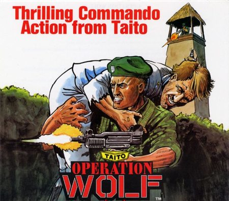 'Operation Wolf', probablemente la mejor recreativa de la historia