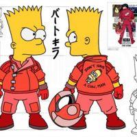 'Bartkira', la brillante unión de 'Los Simpson' y 'Akira'