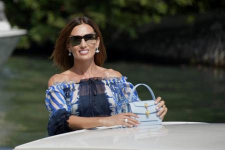 Nieves Álvarez no defrauda y nos deja un look espectacular a su llegada al Festival de Cine de Venecia 2020