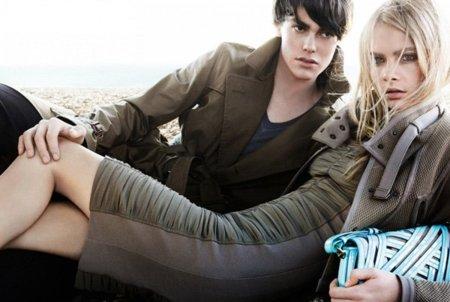 Campaña Burberry Primavera-Verano 2011