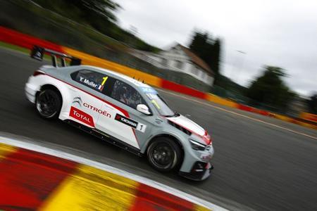 Spa-Francorchamps también es territorio Citroën