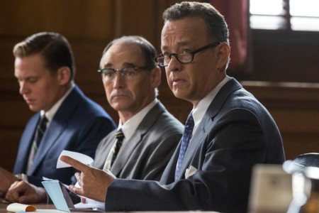 Mark Rylance Tom Hanks El Puente De Los Espias