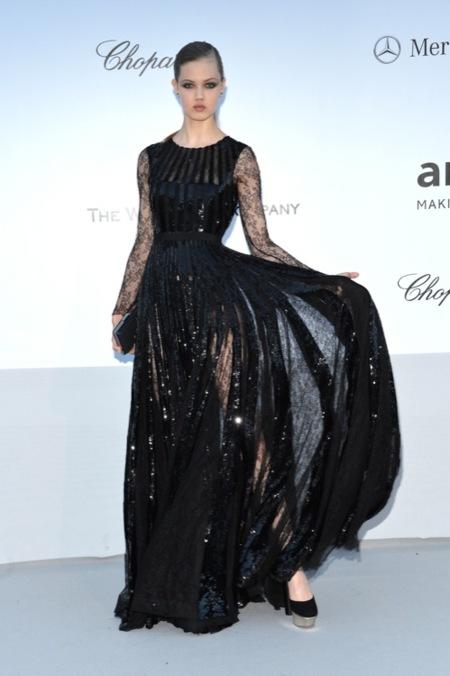Lindsey Wixson amFAR 2012 Cannes