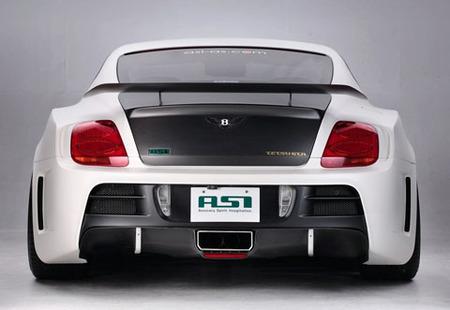 Bentley Continental TETSU GTR por ASI