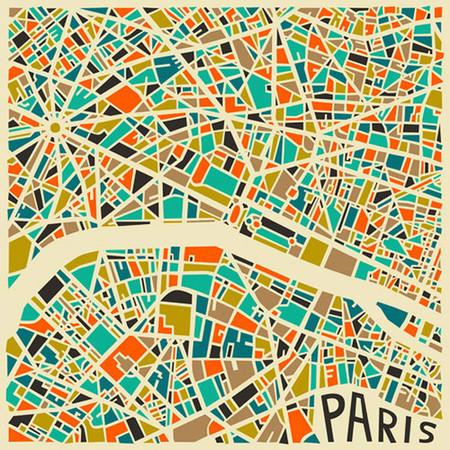 Los artísticos mapas de las grandes ciudades diseñados por Jazzberry Blue