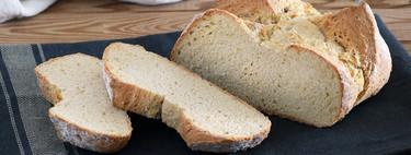 Receta fácil de pan exprés con levadura en polvo y harina común de supermercado