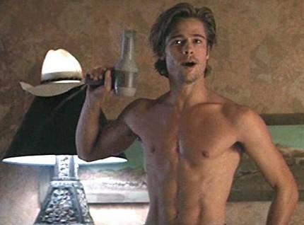 Brad Pitt no se desnudará en más películas