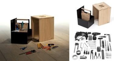 La caja de herramientas soñada por todo manitas