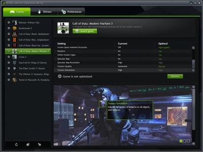 NVidia te echa una mano para mejorar el rendimiento gráfico en los juegos