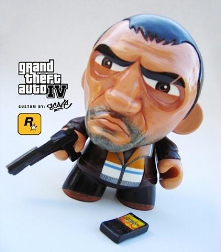Los 10 diseños más originales de un Munny. GTA IV