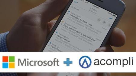 Microsoft compra Acompli y sus aplicaciones de correo para iOS y Android