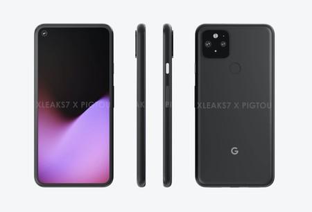 El diseño del Google Pixel 5 se filtra al completo: marcos mucho mejor aprovechados y doble cámara