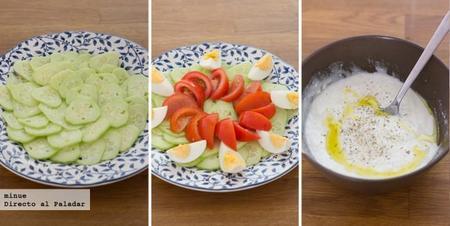 Ensalada de pepino y yogur