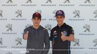 Maverick Viñales y Álex Rins nombrados embajadores Peugeot