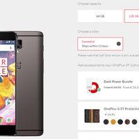 OnePlus 3T de 128 GB ya a la venta