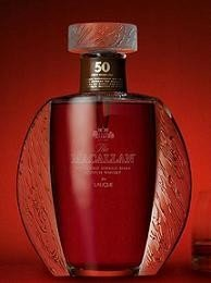 The Macallan y Lalique, un Whisky de malta de más de 5.000 euros