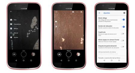 Camara Nokia 1 App
