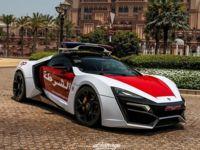 Lykan Hypersport, cuando patrullar una ciudad se realiza con un auto de 3 millones de dólares