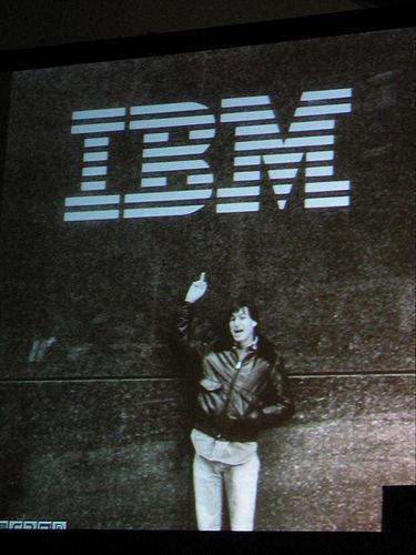 Steve Jobs y el Gran Hermano (de otra época)