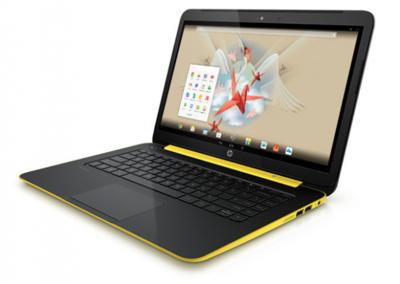 El portátil HP SlateBook 14 con Android saldrá a la venta en España en julio a 399 euros