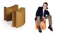 Originales y prácticos asientos de cartón