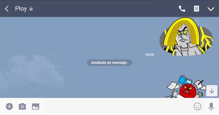 LINE se apunta al borrado de mensajes: así puedes borrar un mensaje en Android hasta 24 horas después