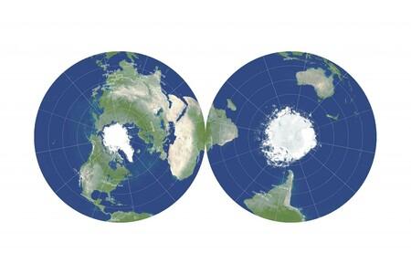 Mapa diseñado por J. Richard Gott y David Goldberg.