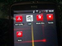 Vodafone le da un buen toque 360 a su Desire sin actualizarlo a Froyo