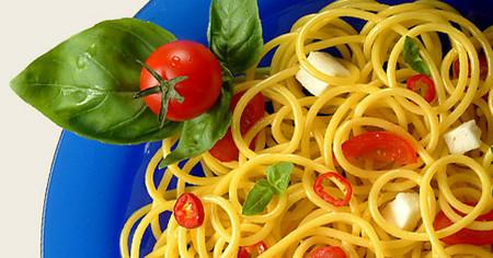 Spaguetti Caprese