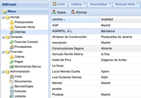 SdSimple, facturación online de código abierto