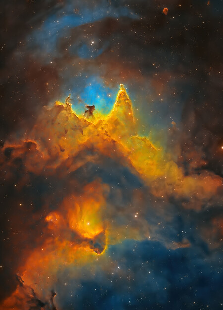 The Soul Of Space Close Up Of The Soul Nebula C Kush